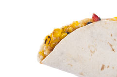 Quesadilla Border with Copy Space Stock Photography