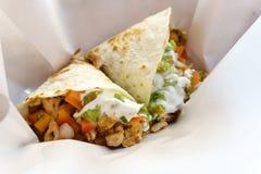 Quesadilla del pollo de la comida de Maxican Fotos de archivo libres de regalías