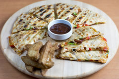 Quesadilla Royalty Free Stock Images