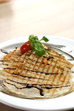 quesadilla kurczaka Fotografia Stock
