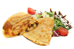 Quesadilla, mexican cuisine Royalty Free Stock Photography