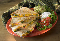 Quesadillas Stock Foto