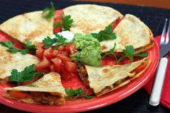 Quesadillas Royalty Free Stock Image