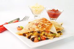 Quesadillas Stock Photography