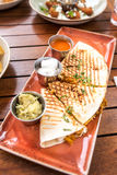 Quesadillas royalty free stock images