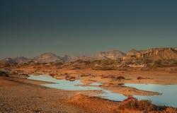 Queshm landscape Stock Photo