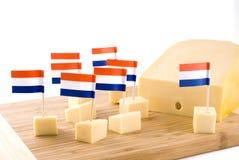 Queso de Holanda foto de archivo libre de regalías