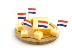 Queso de Holanda imagen de archivo