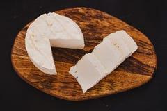 Queso de Queso Panela, queso mexicano de la comida, blanco y fresco en México fotos de archivo libres de regalías