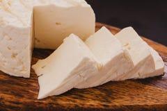 Queso de Queso Panela, queso mexicano de la comida, blanco y fresco en México imágenes de archivo libres de regalías