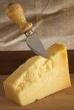 Queso de parmesano Fotos de archivo