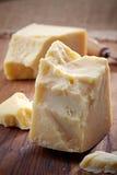 Queso de parmesano Foto de archivo libre de regalías