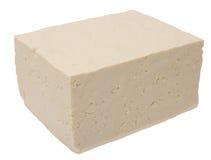 Queso de soja cúbico Foto de archivo libre de regalías
