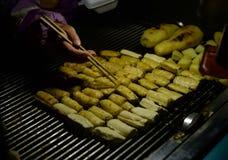 Queso de soja cocido envío de Kunming fotografía de archivo libre de regalías