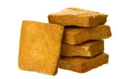 Queso de soja secado imagen de archivo