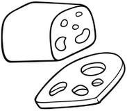Queso del queso Edam Fotos de archivo libres de regalías