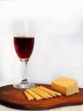 Queso del vino Foto de archivo