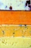 Queso duro Imagen de archivo libre de regalías