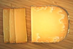 Queso francés maduro Foto de archivo
