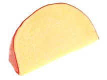 Queso holandés del queso Edam de la cuña Fotografía de archivo