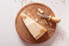 Queso parmesano Foto de archivo libre de regalías