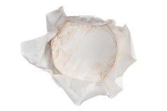 Queso suave redondo Fotografía de archivo libre de regalías