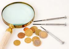 The quest to find a new approach to repair / save the single currency after Greece says NO. Stock Photography