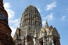 Questa architettura antica realmente chiamata un castello Fotografia Stock