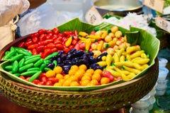 Questa immagine è circa il dessert tailandese, Bangkok Tailandia Fotografia Stock