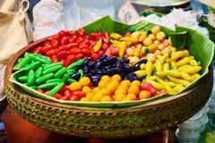 Questa immagine è circa il dessert tailandese, Bangkok Tailandia Immagini Stock
