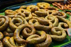 Questa immagine è circa il dessert tailandese, Bangkok Tailandia Fotografia Stock Libera da Diritti