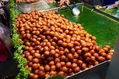 Questa immagine è circa il dessert tailandese, Bangkok Tailandia Fotografie Stock Libere da Diritti