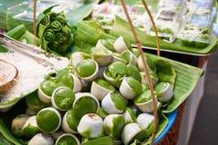 Questa immagine è circa il dessert tailandese, Bangkok Tailandia Fotografie Stock