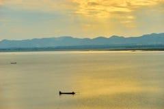 Questa immagine è circa il lago della Tailandia, Tailandia Immagine Stock Libera da Diritti