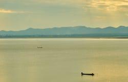 Questa immagine è circa il lago, Tailandia Fotografia Stock Libera da Diritti