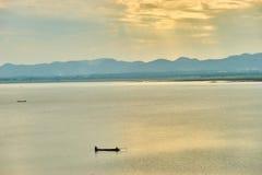 Questa immagine è circa il lago, Tailandia Immagini Stock Libere da Diritti