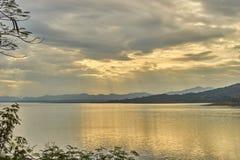 Questa immagine è circa il lago, Tailandia Immagine Stock Libera da Diritti