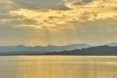 Questa immagine è circa il lago, Tailandia Fotografia Stock
