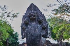 Questa immagine è circa il naga della statua, Tailandia Fotografie Stock Libere da Diritti