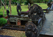 Questa immagine è circa il naga della statua, Tailandia Immagini Stock Libere da Diritti