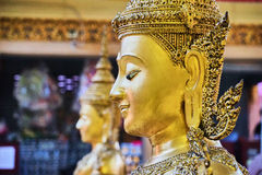 Questa immagine è circa l'altezza di Buddha della campana, Bangkok Tailandia Immagini Stock