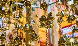 Questa immagine è circa la campana, Bangkok Tailandia Fotografia Stock Libera da Diritti