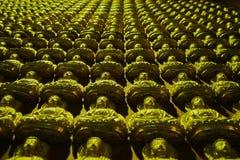 Questa immagine è circa la parete di Buddha, Bangkok Tailandia Fotografia Stock Libera da Diritti