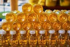 Questa immagine è circa olio tailandese, Bangkok Tailandia Immagini Stock
