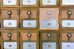 Casella postale nuovissima Immagine Stock