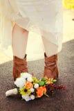 Questi stivali Fotografie Stock
