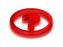 Question Royalty Free Stock Photography