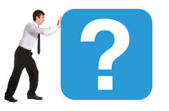 Question Royalty Free Stock Photos
