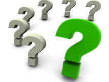 Question. Royalty Free Stock Photo