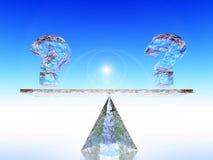 Question ? Image libre de droits